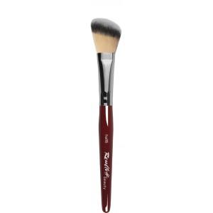 Кисть наклонная Roubloff из волоса мягкой синтетики, для тонального крема №16 (ha16)